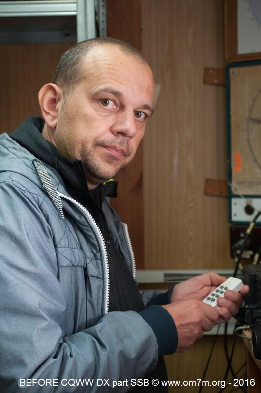 Lubo OM5ZW prepare rotary system