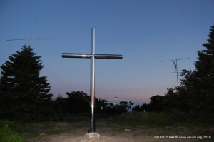 Peak Vtacnik with our antennas