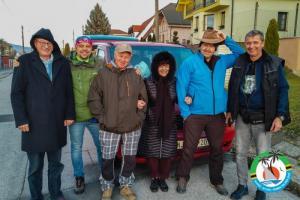 Part of the team, from left: 9A5N, OM5ZW, OM5AA, OM4MF, OM4AZF, OK2WM